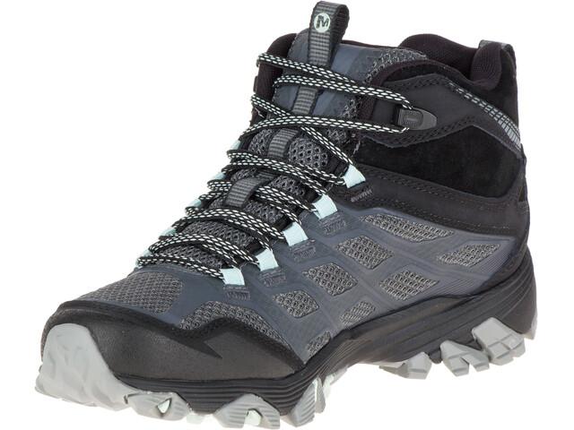 Merrell Moab FST Mid GTX - Chaussures Femme - gris